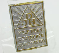 DJH Hitler Youth Hostel Association Tinnie