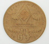 HJ National Sports Competition Badge 1939