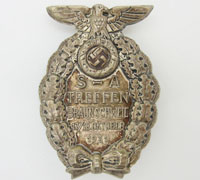 Bruswick Rally Badge 1931