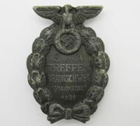 SA Bruswick Rally Badge 1931
