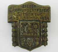 Siegen Coat of Arms 7th Century Tinnie 1924