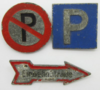 3 WHW Traffic Sign Tinnies