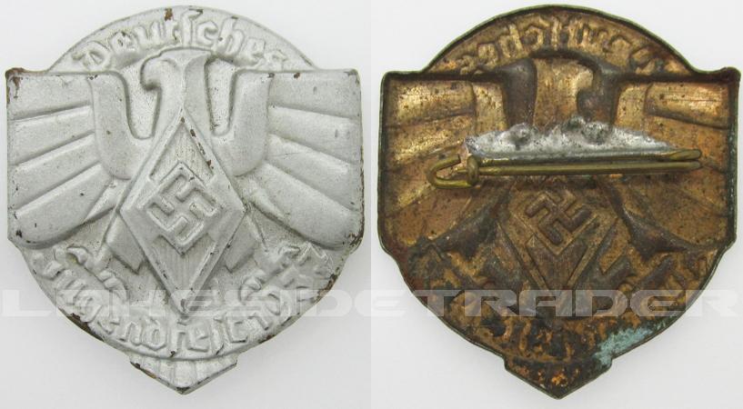 Hitler Youth Deutsches Jugendfest Tinnie 1937
