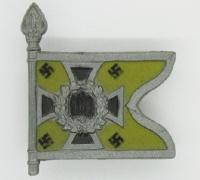Communication Troops Swallowtail Standarte Flag Tinnie