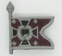 Nebeltruppe Swallowtail Standarte Flag Tinnie