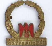 East Prussian Red Cross members 10 year pin