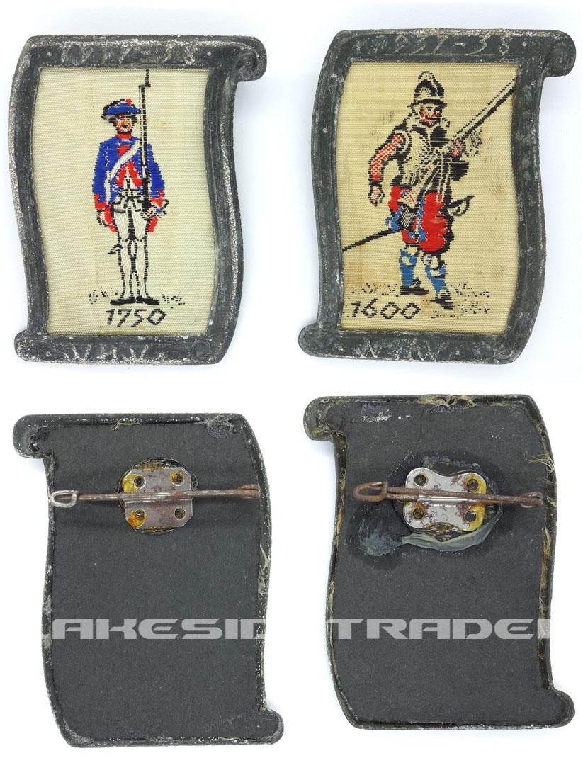 2 WHW Uniform und Geschichte Tinnies 1937-38