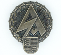 SA Badge Stuttgart - July 1 1934