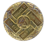 "SA ""Brigade 41"" Meeting Badge 1934 by W. Jena"