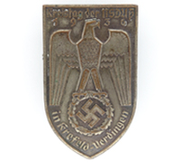NSDAP Krefeld-Uerdingen District Council Day Badge 1936