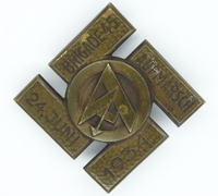 SA Brigade 45 Sports Rally Badge 1934
