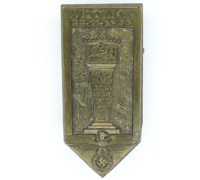 NSDAP Wittlich Meeting Badge 1933