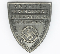 German Labour Front Donation Badge 1934
