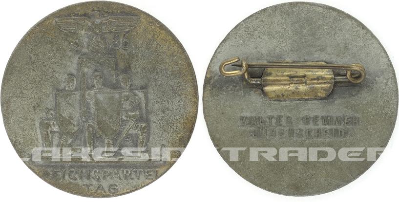 Reichsparteitag Tinnie 1936 by W. Demmer