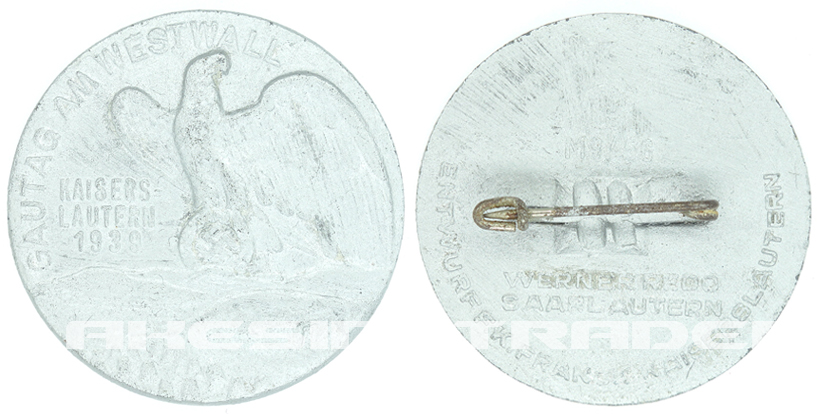 1939 Gautag Westwall Badge