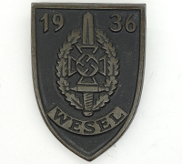 1936 NSKOV Wesel Meeting Badge