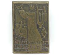XI. Deutsches Sängerbundfest Frankfurt aM. Tinnie 1932