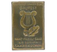 Deutsches Sängerbund Gaufest Tinnie 1934