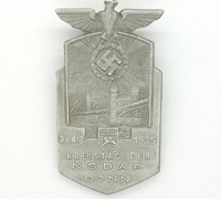NSDAP Bonn District Council Day Badge 1935