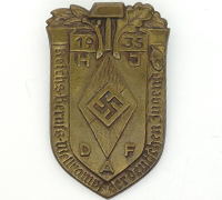 Hitler Youth Trade Competition Tinnie 1935