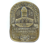 Reichstreubund Saarbrücken Homecoming Celebration Badge 1935