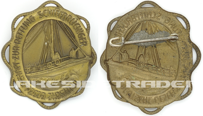 Maritime Search And Rescue Service Badge