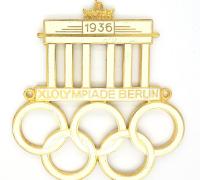 1936 Olympics Automobile Badge