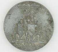 Reichsparteitag Nuremberg Rally Badge 1936