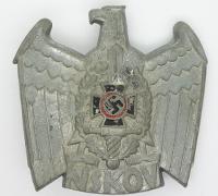 NSKOV Disabled Veterans Organization Cap Badge