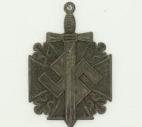 Large Heroic Emblem KWHW Token 1941/42