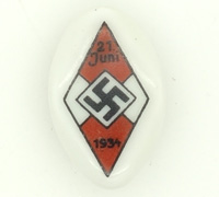 Hitler Youth Sports Festival Tinnie 1934