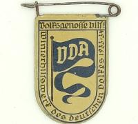 1933-34 German VDA donation pin