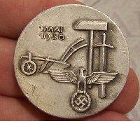 German May Day Badge