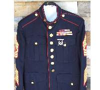 USMC Blue Dress tunic