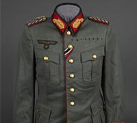 Army Generalmajor Piped Tunic