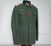 Army Artillery Leutnent Officers Tunic