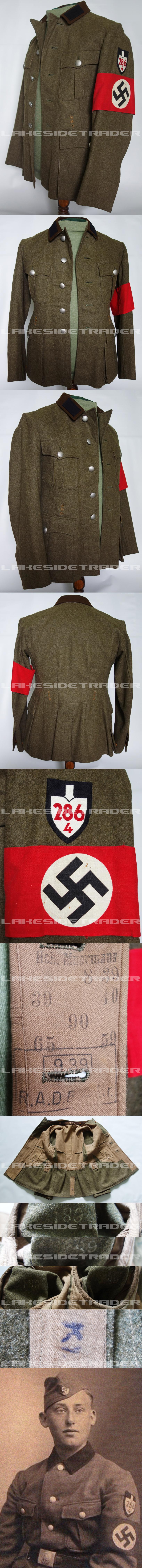 RAD Arbeitsmann M36 Service Tunic