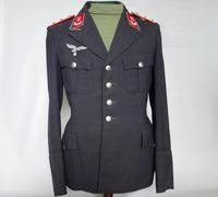 Luftwaffe Flak Hauptmann Officers Service Tunic