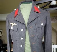 Luftwaffe Flak 4 pocket Waffenrock