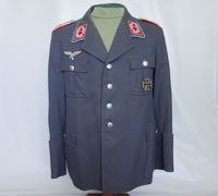 Luftwaffe Flak Artillery Major Service Tunic