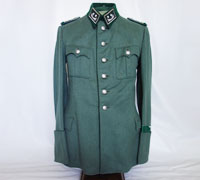 Land Customs ZollSekretar Service Tunic