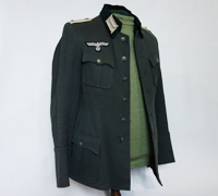 Army Infantry Oberleutnant Officer Service Tunic