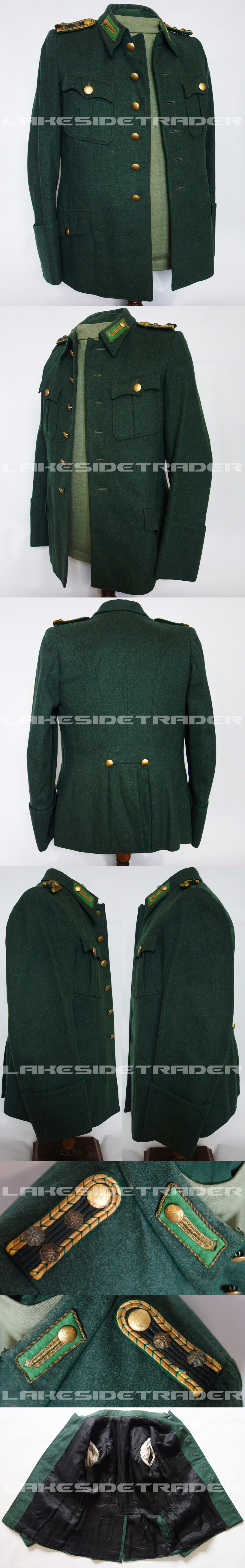 Justice/Prison Officials Service Tunic
