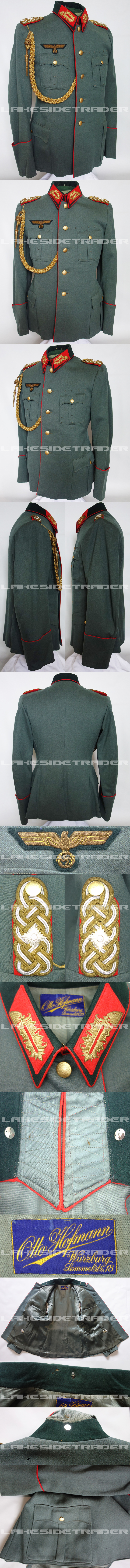 Army Generalleutnant Service Tunic