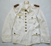 Army White Summer Tunic of Generalmajor Hellmuth Stieff