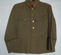 Japanese Army Lieutenant's Uniform Type 3