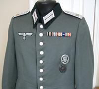 Wehrmacht Engineer Lieutenant Waffenrock