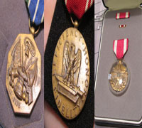 3 piece U.S. Army Medal Grouping