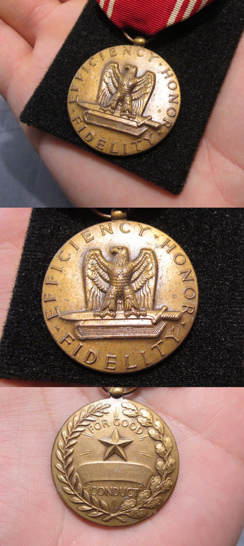 3 medal U.S. Army Grouping