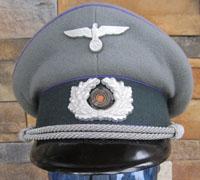 Army Medical Officer's Visor